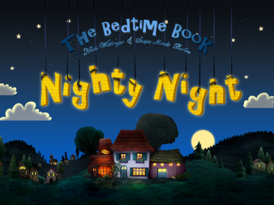 Nighty Night! iphone ipad interactive bedtime book app for Kids
