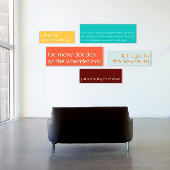 numsi modern wall art panels – contemporary nursery decor – Design ...