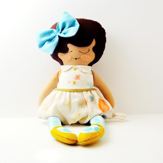Goodbye Blue Monday Handmade Custom Retro Dolls on Etsy