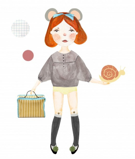 Diaper Style Memoirs Downloadable Printable Paper Doll and clothes