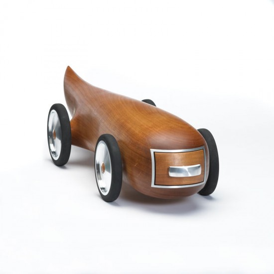 Aerodynamic Wooden Cars