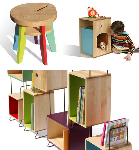 Nonah! French Furniture for Kids Nursery Decor