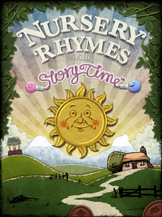 Nursery Rhymes with Storytime from UsTwo iPad iPhone digital book app for kids