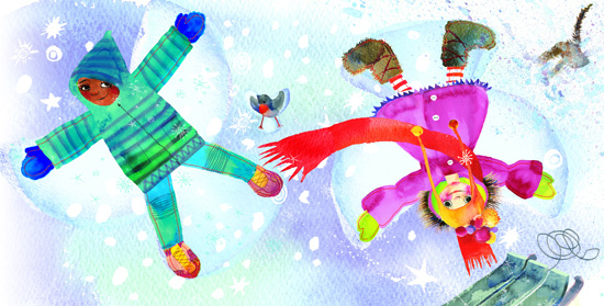 Razzle Dazzle Ruby Best Pop Up Book for Kids with Winter Adventure story