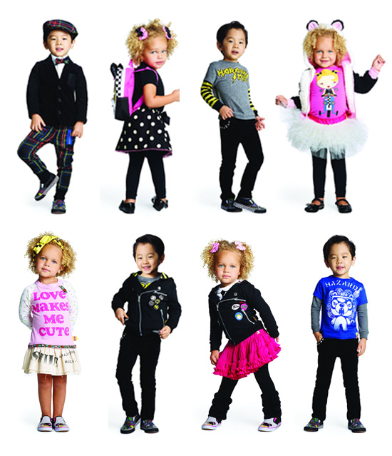 Gwen Stefani debuts Harajuku Lover's Mini Line of Kids Fashion Clothing at Target