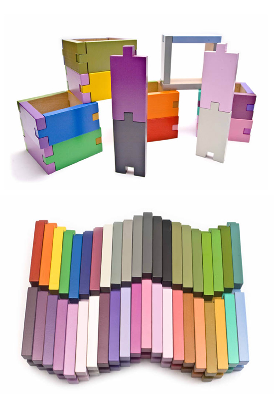 Learning Materials Workshop Colorful Open-ended Montessori-inspired wooden toys and blocks