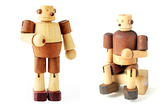 Soopsori natural sustainable wood toy robots, kitchen, pretend play, rattles, and cars