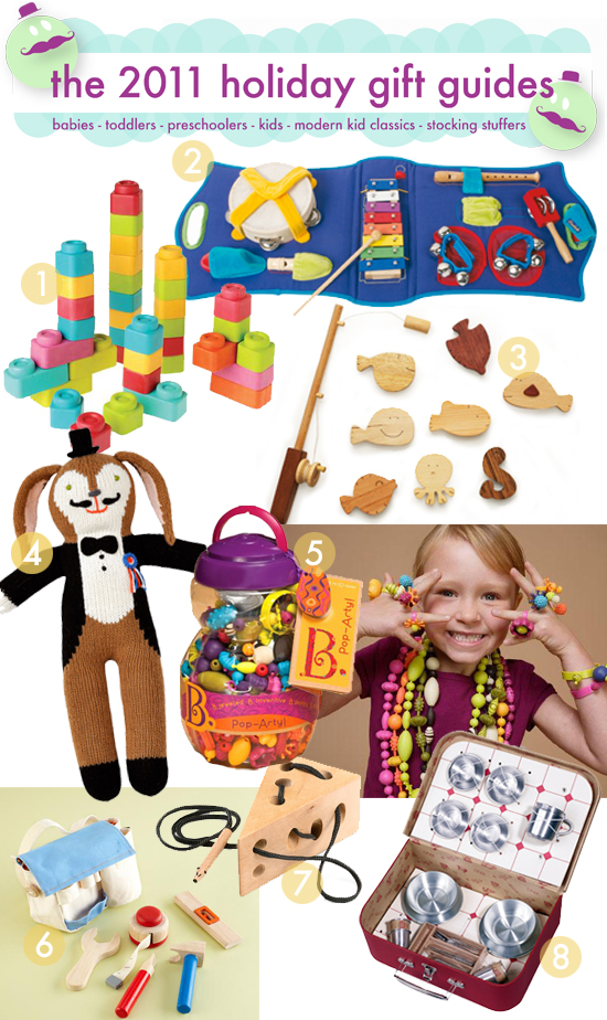 Top Toys for Toddlers – Holiday Gift Guides – Cool Unique Toys and ...