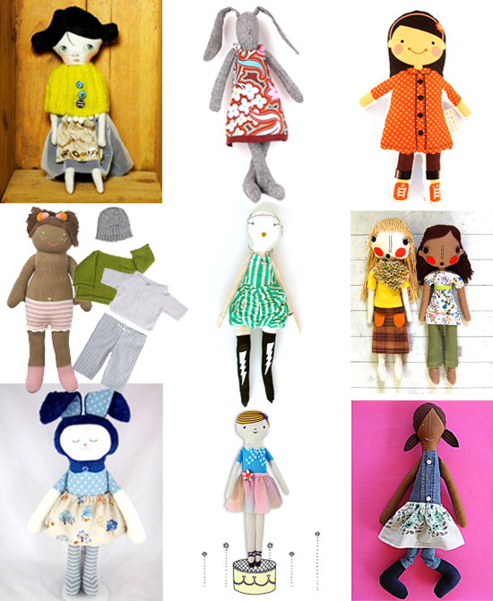Best Handmade Dolls for your Modern Retro Doll Loving GIrls and Boys this Holiday Season