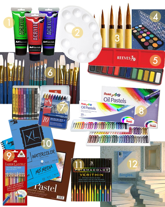 Better art supplies for kids best paints brushes for Online art stores us