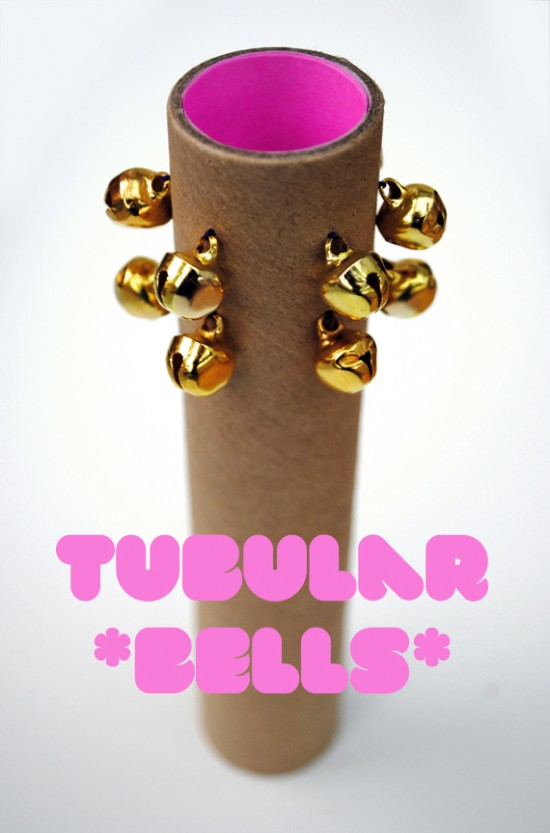 Mini Eco DIY Make Your Own Musical Instruments bells, guitar, and ankle jingle bells