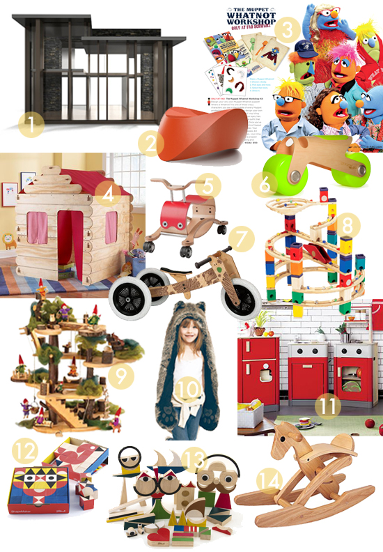 best splurges for kids christmas modern classic toys for children