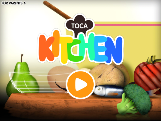 Best iphone ipad apps for kids - Toca Boca Kitchen
