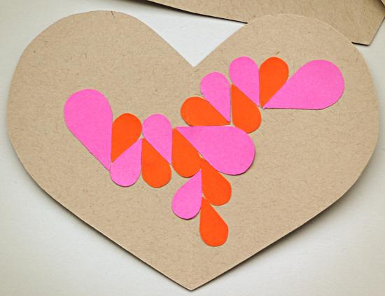 DIY Geometric Mosaic Valentines – Kids Crafts for Valentine\'s Day ...