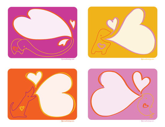 Free Printable Valentines Cards Googly Eye Custom Cards Hearts – Small Valentine Cards