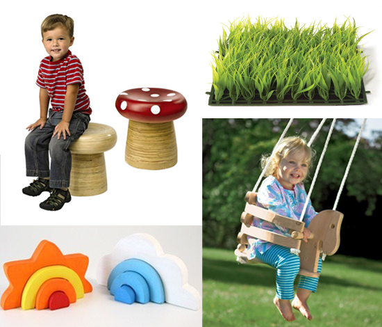 Modern Playful Playroom and decor ideas from the outdoors