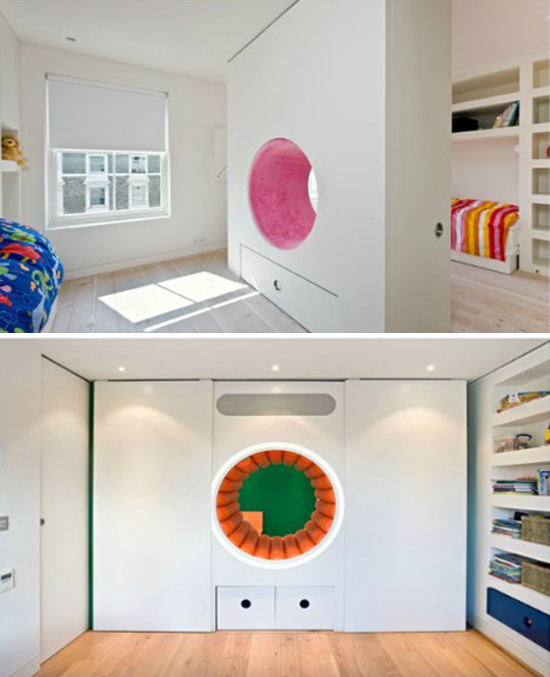 Modern MInimal Kids Playroom Decor