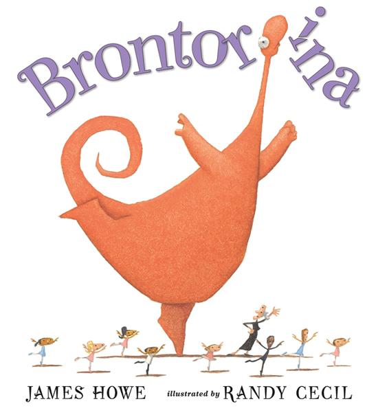brontorina ballerina children's picture book by James Howe
