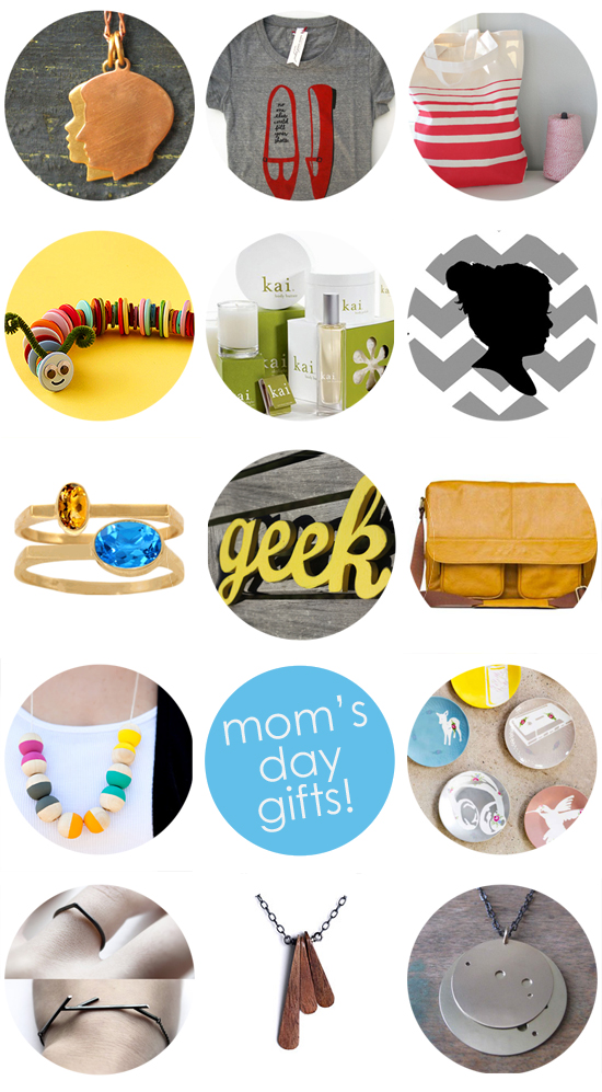 best mother's day gifts - modern jewelry and handmade kids crafts too