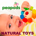 Peapods Natural Toys for Babies and Kids