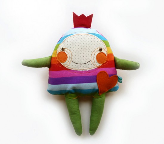 Manka Handmade stuffed monster animals for babies and kids on etsy