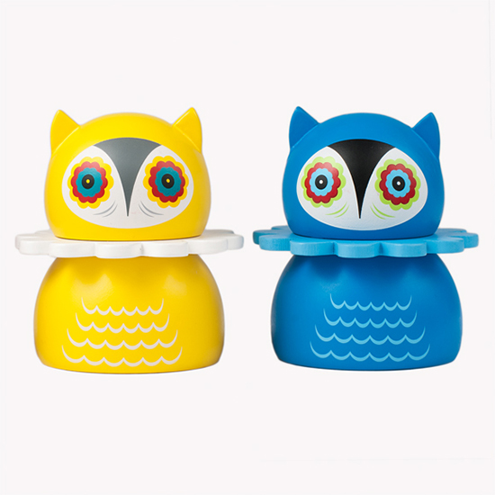 misko Nathan Jurevicius' Lithuanian Owls Art Toys blind collectible art toys
