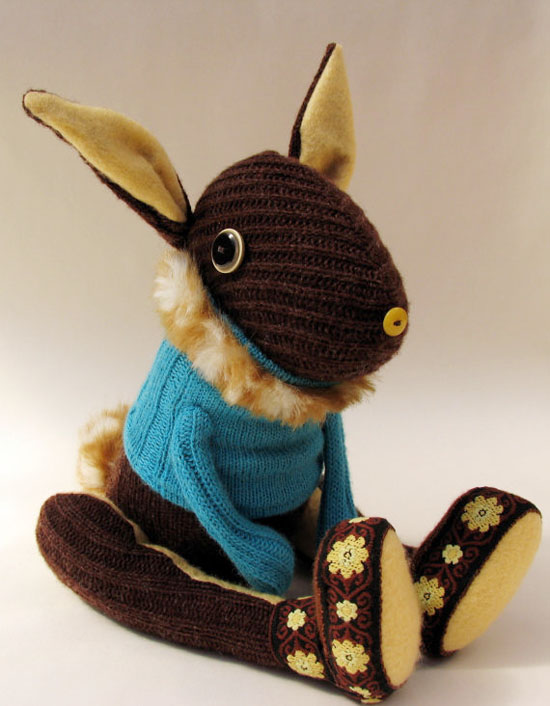 Skippity Hop Creatures handmade stuffed animals from Etsy