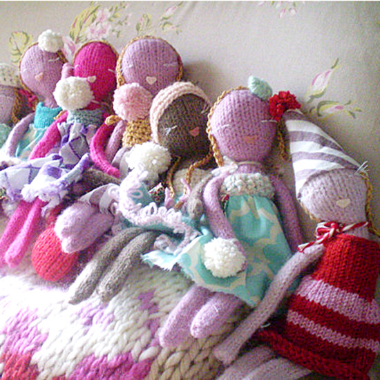Knitting Pattern To Make A Doll : Knitted Babe Dolls   Handmade DIY Doll Patterns   Knit a ...