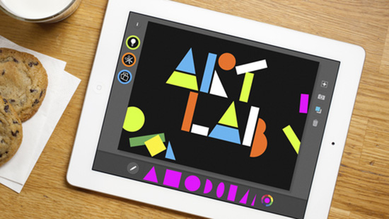 MoMA Art Lab app for iPad - great art teaching tool for kids to learn
