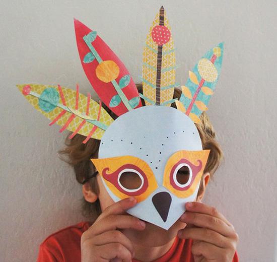 Как сделать маску с детьми
