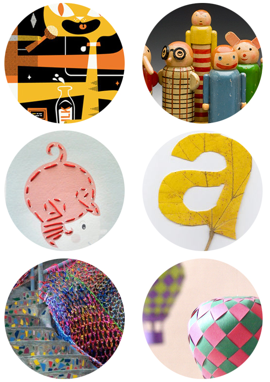 Pets posters, MoMA children's design exhibit, printable sewing cards, leaf type, crocheted playground, DIY paper projects
