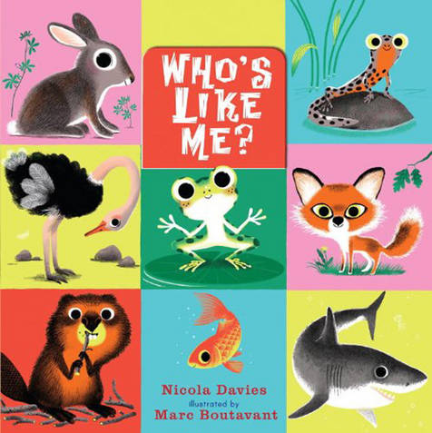 Marc Boutavant's children's book Who's Like Me Review