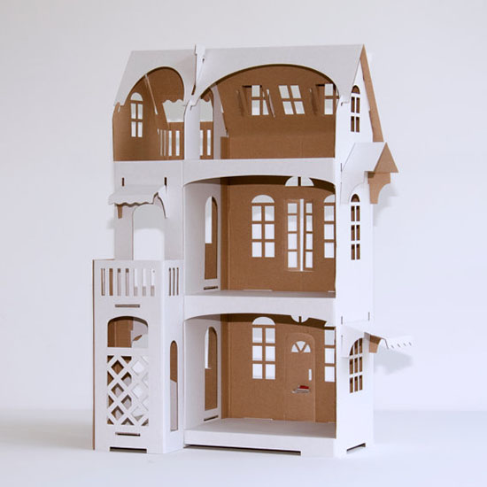 Cardboard Dollhouse – Decorate your own Dollhouse for ...