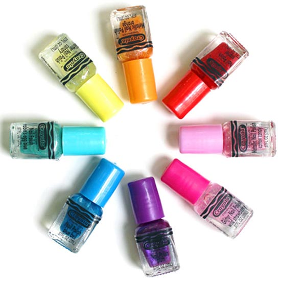kids nail polish - Crayola Nail polish and Hopscotch Kids