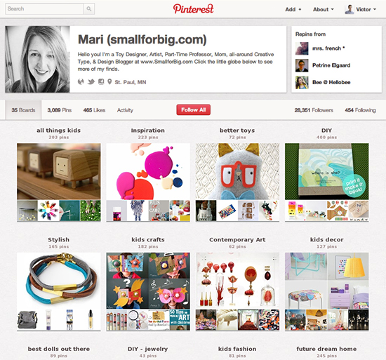 Top Pinterest Users Every Design lover Should Follow - kids design, toys, decor, and style