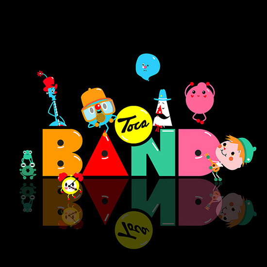 Best Apps for Preschoolers - Toca Boca Band