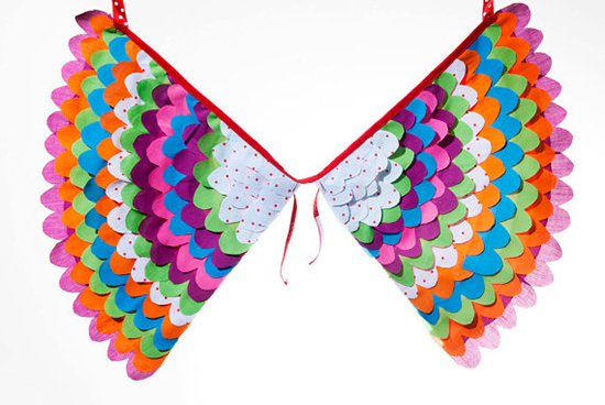 Handmade Dress-Up Costume Play Wings for Kids from Big Birds Boutique on Etsy