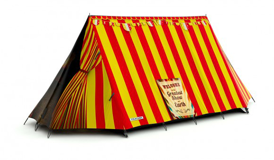 Field Candy art printed limited edition tents