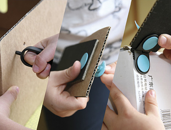 Makedo eco-friendly DIY kits with recyclable cardboard for kids