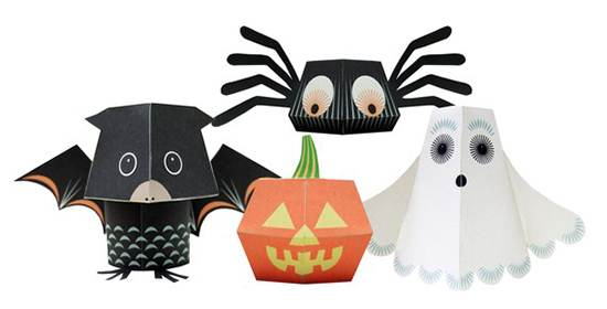 Best Printable Halloween DIY Paper Toys donwloads for kids
