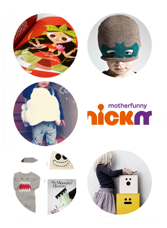 Hindu Children's Book, Bat Hat for Kids, Handmade Haloween Costumes, Nickelodeon Mom TV, Halloween Fashions, Ferm LIving