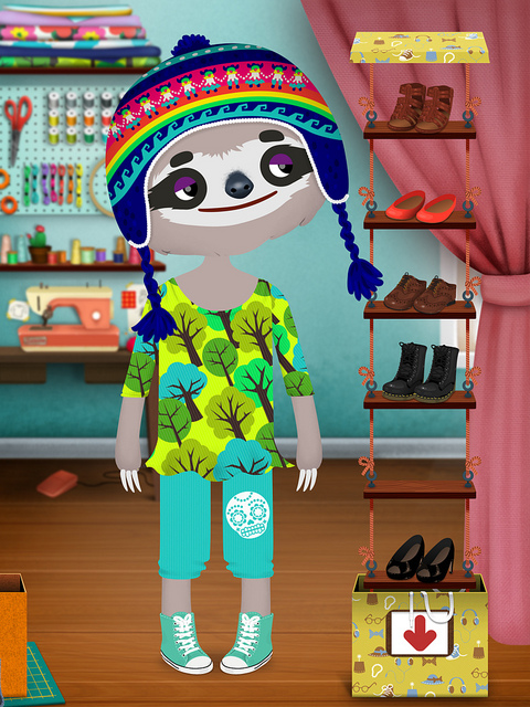 Toca Boca Fashion Dress Up Design App - Toca Tailor, for iPhone and iPad