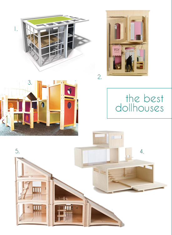 top 5 dollhouses best modern wood play houses gift guides for kids small for big. Black Bedroom Furniture Sets. Home Design Ideas