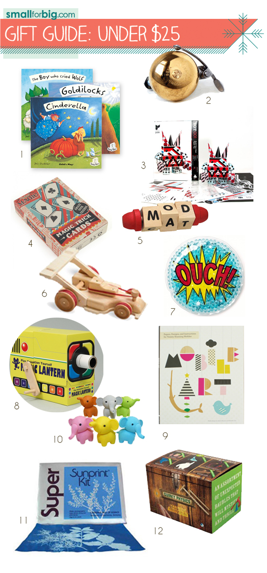 top 12  most unique gifts and toys for babies, toddlers, preschoolers, pre-k, kids tweens and teens under $25 this season