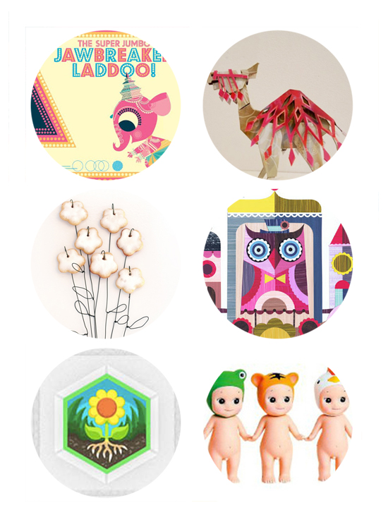 Best Links: Ganesha Children's book, cardboard art, diy cookie bouquet, owl calendar, diy.org, stocking stuffer gift ideas