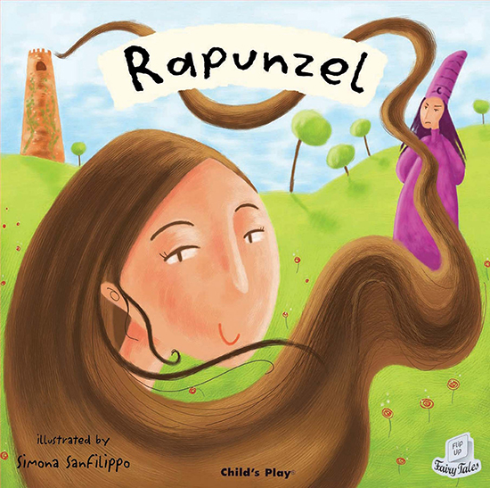 Rapunzel Children's Book - a Flip-Up Fairy Tale with CD from Child's Play