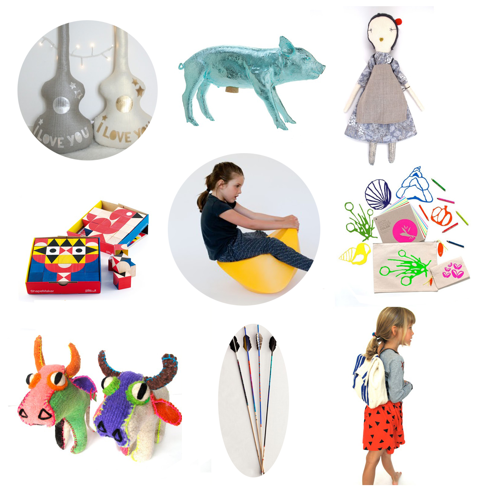 Last MInute GIft Guide from Nonchalant Mom for Modern Kids Design Toys