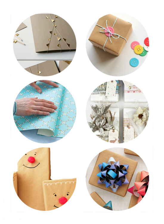 Favorite DIY unique handmade wrapping paper ideas