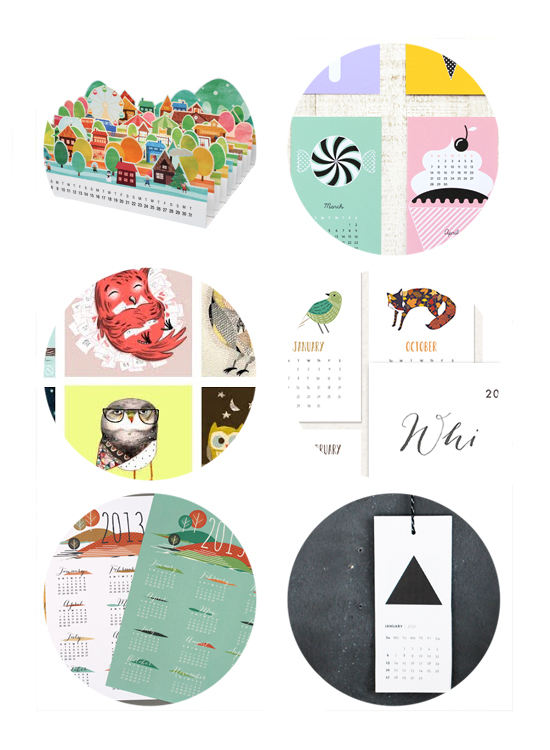 Best Free Printable Modern Desktop 2013 Calendars