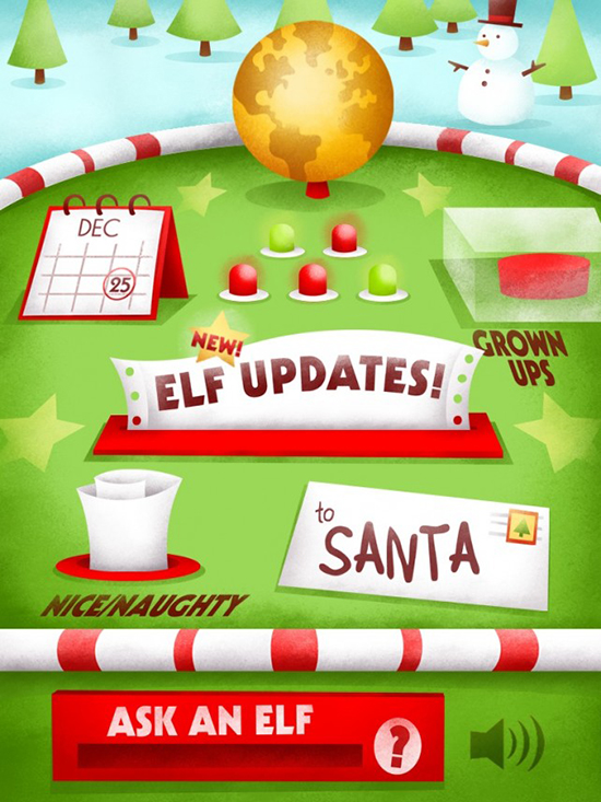 Best iPad and iPhone apps for kids over the holidays - Santa's Big Helper